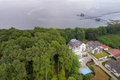 Villa Rex, Luftbild